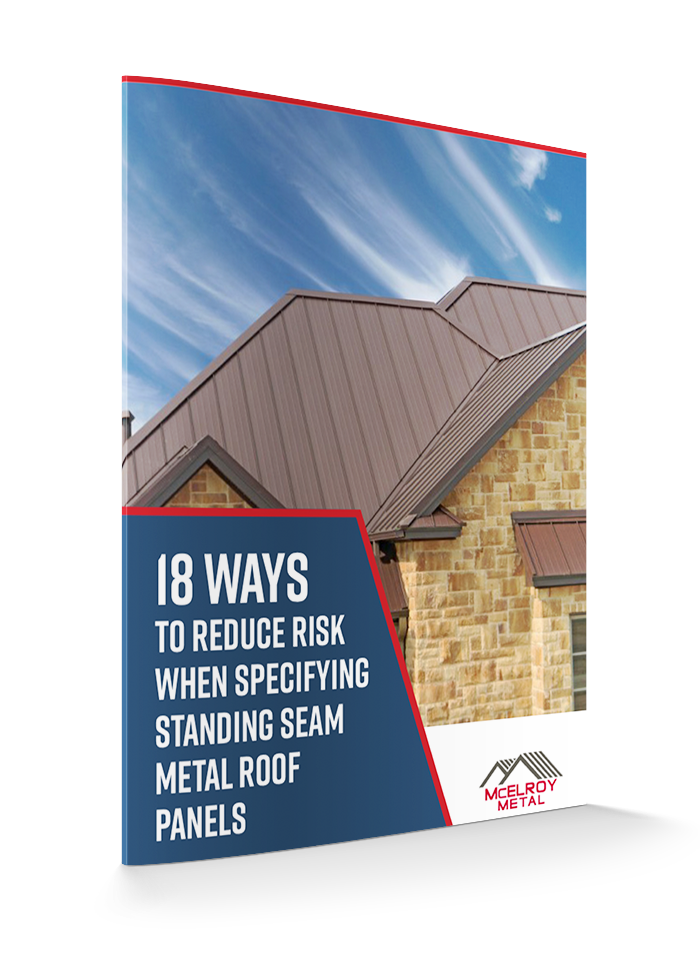 3D Cover 18 Ways To Reduce Risk Standing Seam Metal Roof Panels